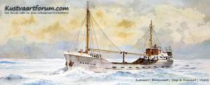 illustratie op Kustvaartforum.com