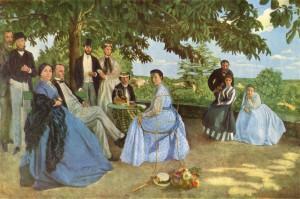 Frédéric Bazille, Familiereünie (1868)